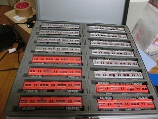 京成車16両をCASCOのケースに収納