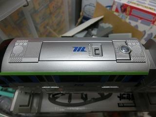 東京モノレール10000形プラレール 各車両の屋根③