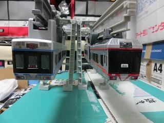 湘南モノレール5000系と5000系ブルーラインの並び②