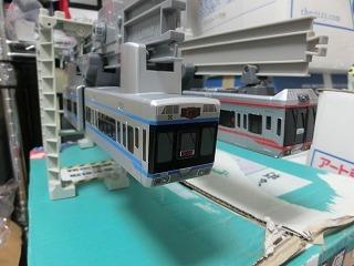湘南モノレール5000系と5000系ブルーラインの並び④