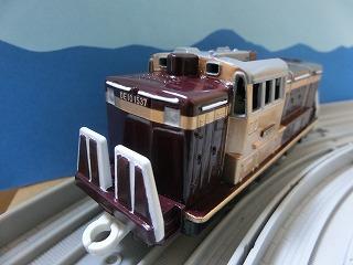 完成した「わたらせ渓谷鉄道 DE10 1537号機」②