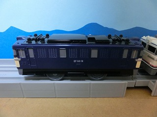 プラレール「EF60-19号機」一般色③