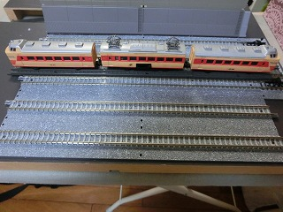 ミニミニレール「特急電車」