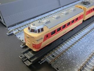 ミニミニレール「特急電車」先頭車(後部車)