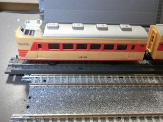 ミニミニレール「特急電車」先頭車(後部車)②