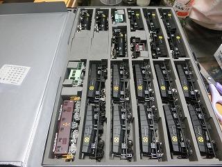 21m級12両用ケースに収納した東上線貨物列車