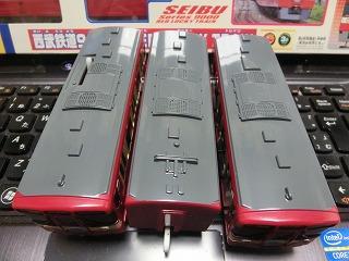 「西武鉄道9000系 RED LUCKY TRAIN」屋根