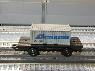 ミニミニレール コンテナ車