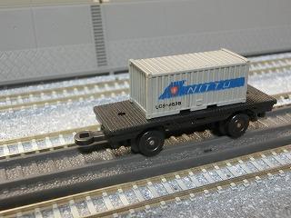 ミニミニレール コンテナ車②