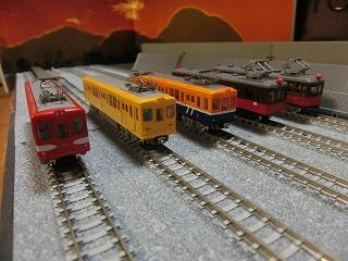 N化した鉄コレ銚子電鉄デハ1000/デハ701/デハ801