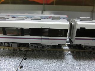 ドア部塗装加工後の鹿島臨海鉄道7000系②