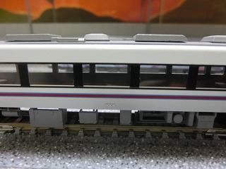 ナンバー取り付け後の鹿島臨海鉄道7000系