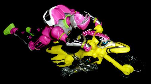 仮面ライダーレーザー バイクゲーマー レベル2&仮面ライダーエグゼイド アクションゲーマー レベル2