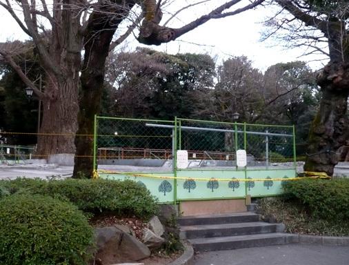 上野こども遊園地・跡地