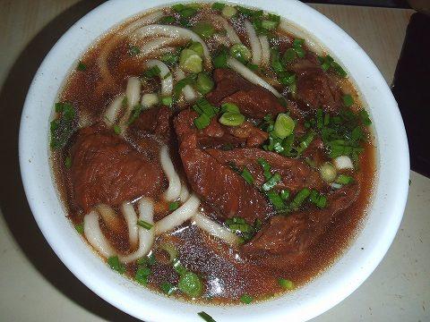 7紅焼牛肉麺PB170317