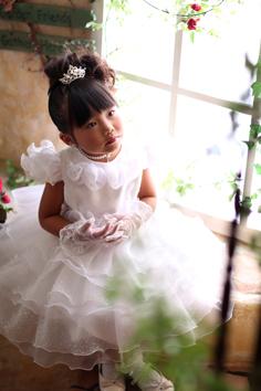 りあちゃんドレス七五三自然光伊勢崎写真館2