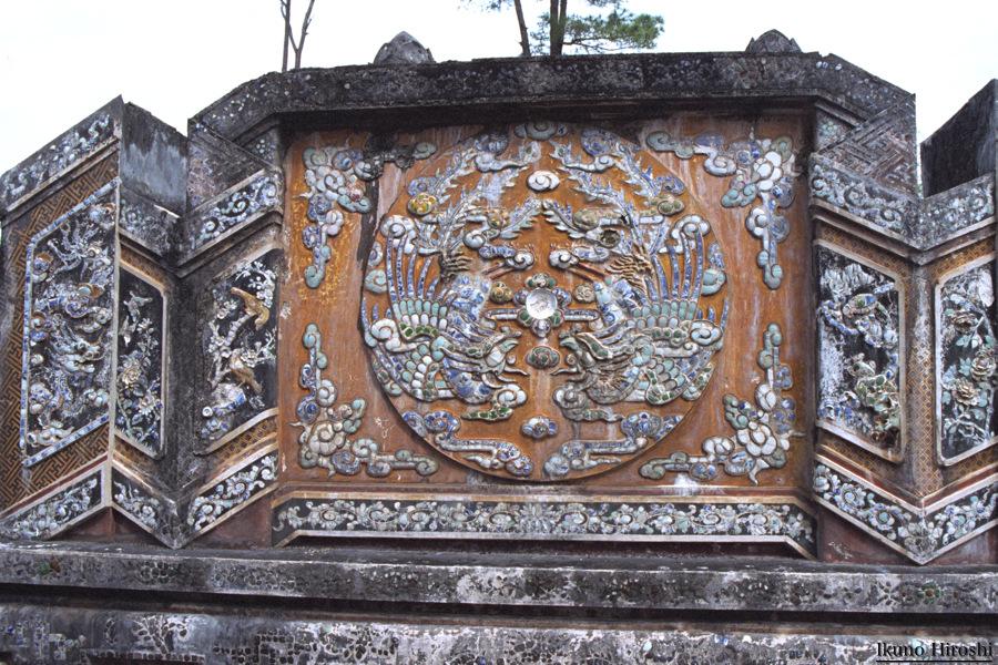 儷天英皇后の謙壽陵のモザイク