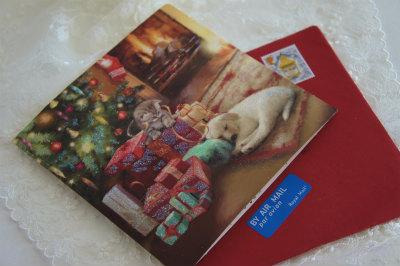 博子さん2016クリスマスカード2