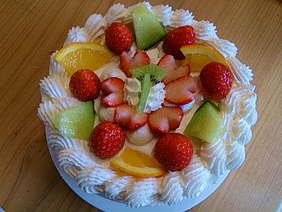 おうちで簡単ケーキ講習会