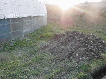 堆肥置き場を7