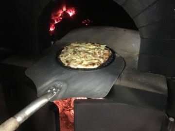 ピザと焼き芋