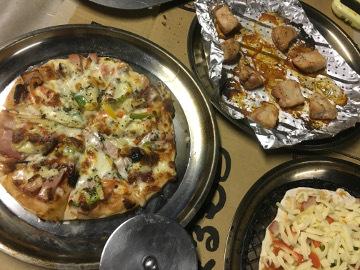 ピザと焼き芋2