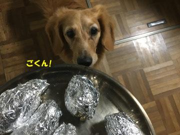 ピザと焼き芋6