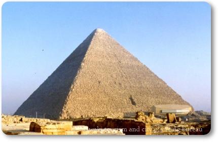 黒河内先生②写真1クフ王ピラミッド