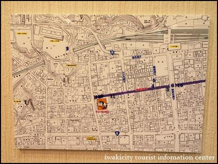 写真で辿る本町通り 地図