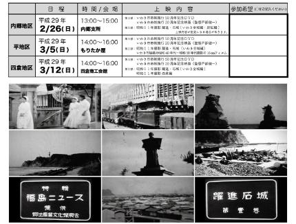 16mmフィルムが映す昭和11年のいわき-2