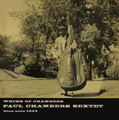Paul Chambers Whims Of Chambers Blue Note BLP 1534