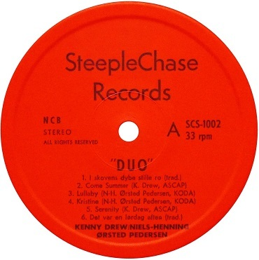 SteepleChase Label 1st