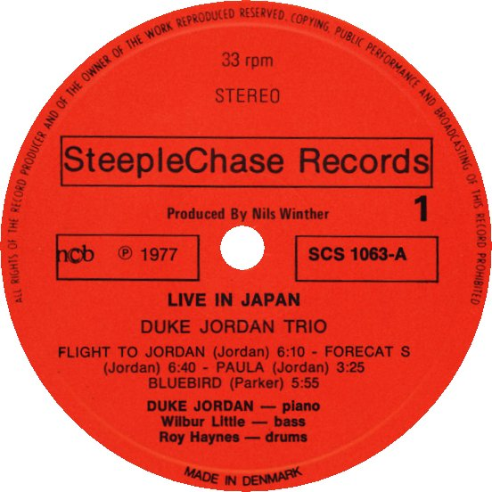 SteepleChase Label 2nd