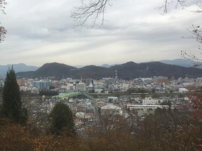信夫山遠景