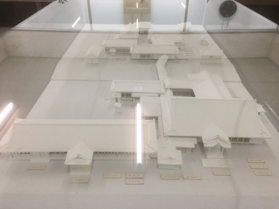 主要部の模型