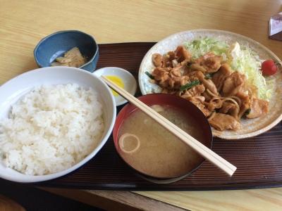 鶏ハラミ定食