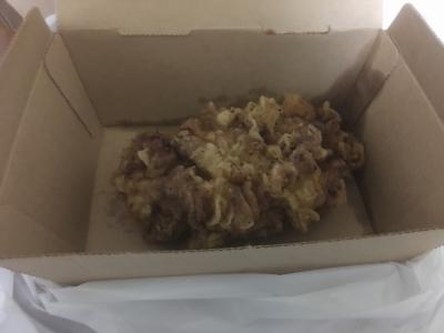 比内地鶏のフライドチキン