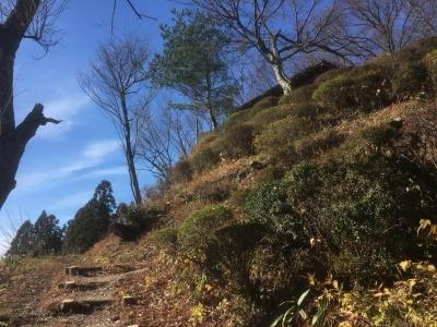 現在の登り道
