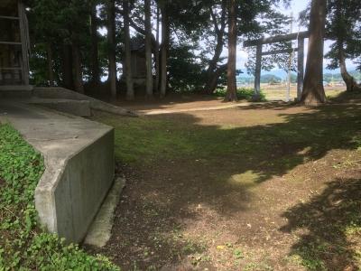 桝形状の地形