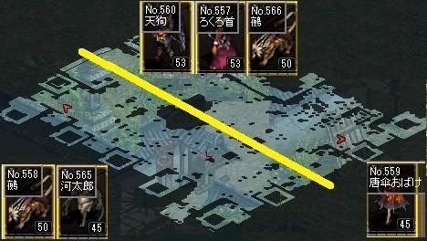 二の丸マップ分布図