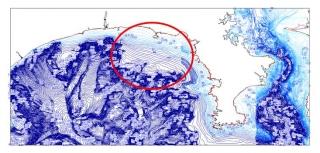 ●海底地形