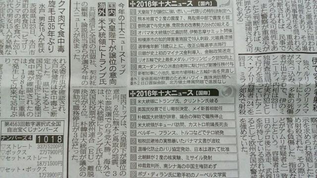 十大ニュース