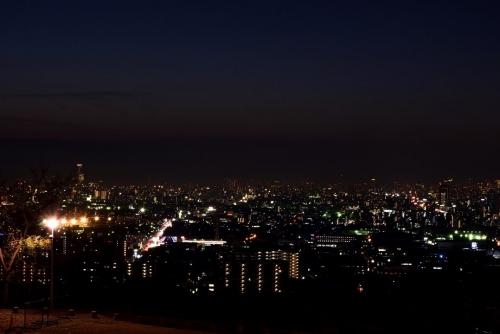 重願寺から夜景