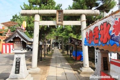保木間氷川神社(足立区西保木間)2