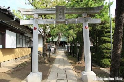 保木間氷川神社(足立区西保木間)9