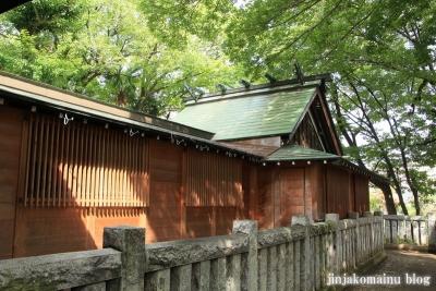 保木間氷川神社(足立区西保木間)14