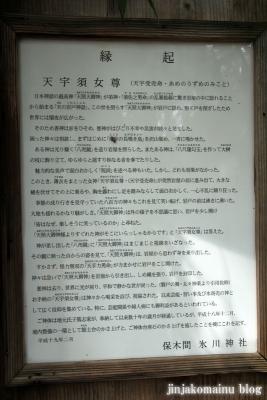 保木間氷川神社(足立区西保木間)21