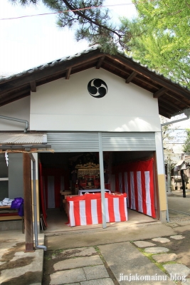 保木間氷川神社(足立区西保木間)40