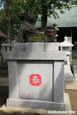 保木間氷川神社(足立区西保木間)27