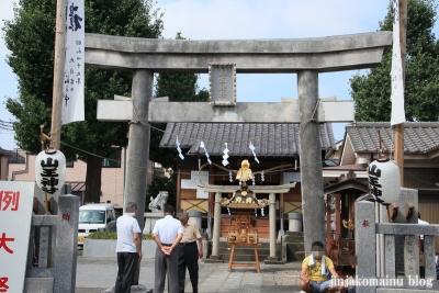 山王神社(足立区保木間)2